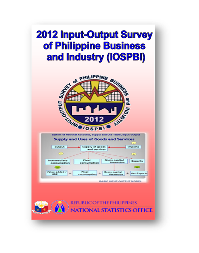 Input-Output Survey of Philippine Business and Industry (IOSPBI) Primer