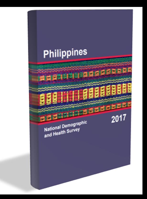 National Demographic and Health Survey (NDHS)