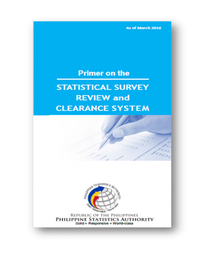 Primer on the Statistical Survey Review and Clearance System (SSRCS)