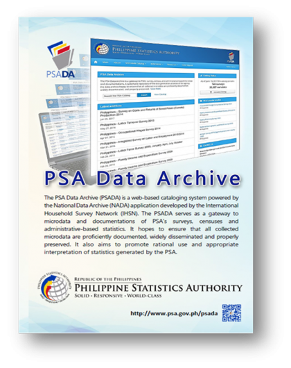The PSA Data Archive (PSADA)